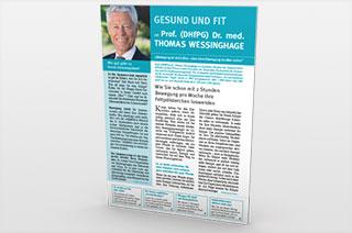 Gesund und fit mit Prof. (DHfPG) Dr. Thomas Wessinghage