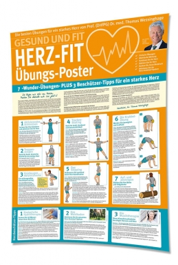 Wessinghages Herz-Fit-Poster